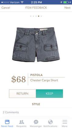 Love cargo shorts.