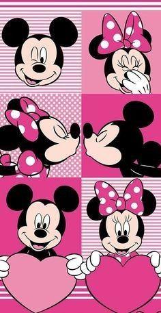 Disney Minnie Mickey Mouse Loveheart Porte-Passeport Personnalisable en Similicuir et /étiquette de Bagage Multicolore Multicolore Luggage Tag