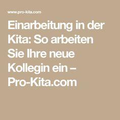 Einarbeitung in der Kita: So arbeiten Sie Ihre neue Kollegin ein – Pro-Kita.com