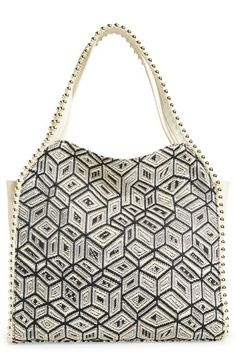 Big Buddha 'Grayson' Hobo available at #Nordstrom zigzag pattern