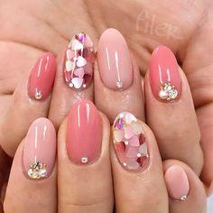 #nail#nailsalon#newnail#swag#love#cute#fashion#filer#gelnails#フィレール#美甲#自由が丘ネイルサロン#ネイル#ジェルネイル#ピンクネイル#冬ネイル#バレンタインネイル#春ネイル#뷰스타그&#470