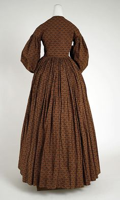 Dress Date: 1840–45