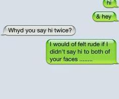 I have a few people i could text his to..l. #twofaced