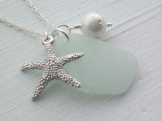 Scottish Sea Glass Necklace