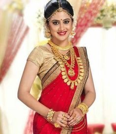 Beautiful Bridal Blouse Designs for South India - Indian Fashion Ideas | Indian Fashion Ideas