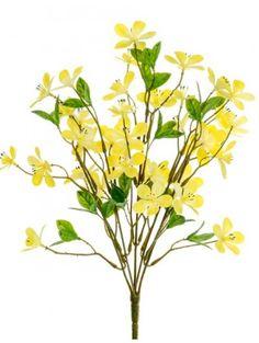 Artificial - Plum Blossom Spray - Yellow