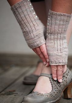 Ravelry: ChristalLittleK's Pride and Prejudice Mittens | Cute, but I like the shoes even more.