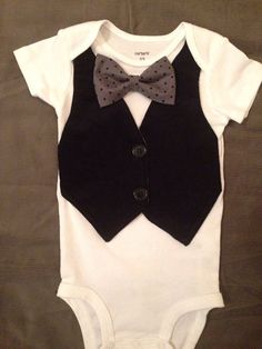 Luther  Baby Boy Clothes  Newborn Outfit  by ChristolandCompany