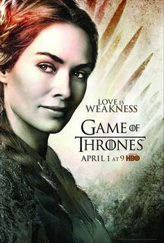 Love Is Weakness - Cersei Lannister | I saw the return 2º season, amazing! Love it!