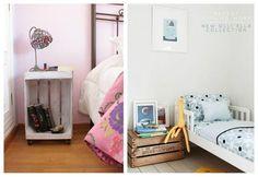 Ideas low cost para una una habitación infantil