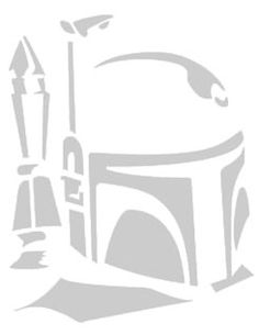 Items similar to Star Wars inspired Boba Fett sticker set, episode vii vinyl sticker on Etsy Pumpkin Template, Pumpkin Carving Templates, Pumkin Carving, Star Wars Stencil, Star Wars Art, Camo Stencil, Minion Stencil, Wolf Stencil, Boba Fett Helmet