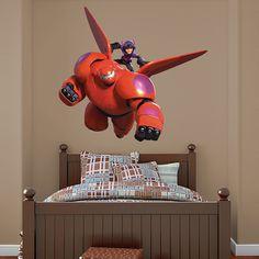 Baymax REAL.BIG. Fathead – Peel & Stick Wall Graphic   Big Hero 6 Wall Decal   Disney Decor   Bedroom/Playroom/Nursery