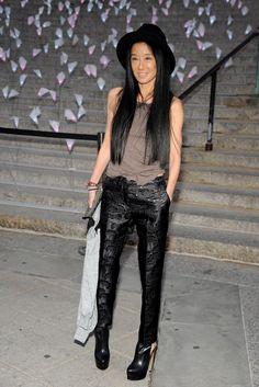 Vera Wang at Vanity Fair's Tribeca Film Festival party