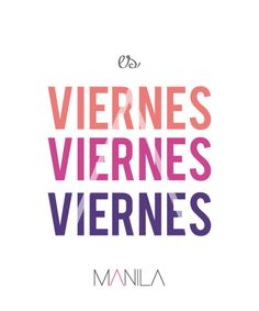 Viernes!! Manila, Keep Calm, Artwork, Quotes, Frases, Friday, Quotations, Work Of Art, Stay Calm