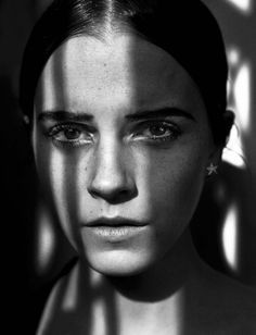Emma Watson, by Vincent Peters for Vogue Italia... - M like Marcel