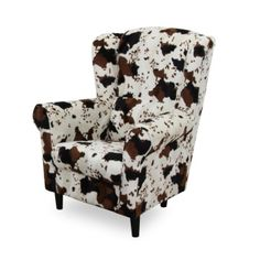 Kreslo ušiak látka animals 05 CHARLOT Armchair, Retro, Tv, Furniture, Design, Home Decor, Animals, Womb Chair, Animais