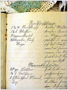 Rindfleischsuppe - altes Kochbuch Sütterlin