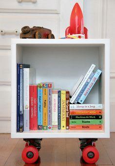[Hazlo tu mismo]: Librero con Ruedas