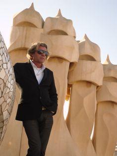 Jan Donders at Pedrera Dutch Gaudi