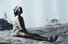 Model: Ataui Deng   Photographer: Julia Noni