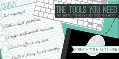 Teacher Creator Toolbox - a site that will help you do more with your TpT store/blog! $