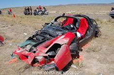 24 Wrecked Ferraris Ideas Ferrari Car Crash Crash