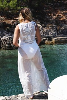 White swimsuit White Swimsuit, Stevie Nicks, Free Spirit, My Heart, White Dress, Swimsuits, Formal Dresses, Photos, Photography