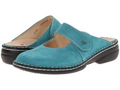 Finn Comfort Stanford - 2552 Turquoise - Zappos.com Free Shipping BOTH Ways
