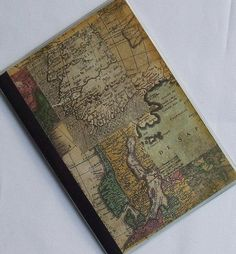 Vintage Map Passport Cover by Oli-Pop