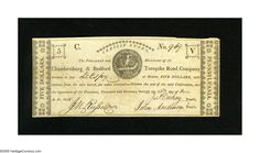 (Bedford, PA)- Chambersburg & Bedford Turnpike Road Company | Lot #21142 | Heritage Auctions
