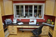 sewing room