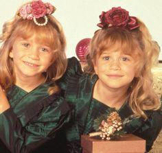 Mary-Kate(left) Ashley(right)