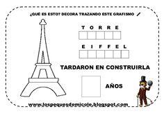 Fichas proyecto la vuelta al mundo Paris, Chart, Tours, England, Happy Friday, European Travel, Tour Eiffel, Continents, Fle