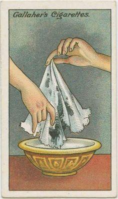 L'astuce d'autrefois qui marche encore aujourd'hui pour enlever une tache d'encre d'un tissu.