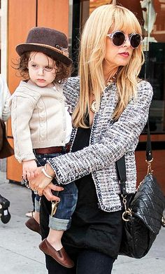 Celebrity Style | Rachel Zoe CAbi fall Static jacket or mockingbird jacket with one shoulder tee or simple black cami -love this look