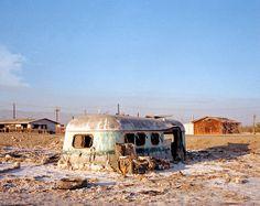Rob Hann: Deserted States of America Vintage Caravans, Vintage Trailers, Vintage Campers, Abandoned Buildings, Abandoned Places, Airstream Campers, Salton Sea, Wind In My Hair, Wild West