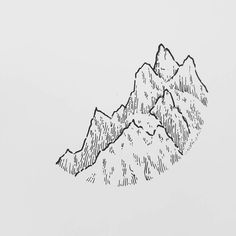 Saw a really great documentary about chamonix and the mountain guides. I admire these people because I don't feel comfortable up there in these terrain. Far more comfortable on hiking trails  But it's inspiring none the less  Have a great weekend  . . . . My shop with prints and originals. Link in bio @lostswissmiss http://ift.tt/2jfRKg7 . . .  #illustration #illustrations #drawing #draw #sketchbook #artwork #artworks #instaart #instaartist #traditionalart #artoftheday #artsy #handdrawn…