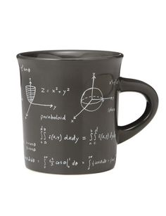 This math mug will put a smile on any math teacher's face!