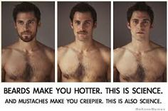 men before and after beard