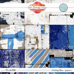 Feeling Blue {papers}