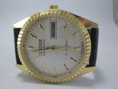 GENUINE VINTAGE CITIZEN AUTOMATIC D/D 21J AUTOMATIC WRIST WATCH FOR MEN CAG-0