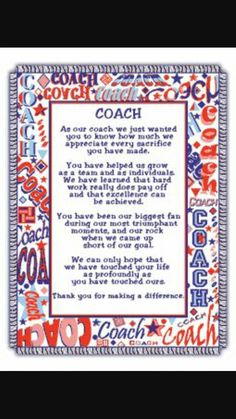 Discover and share Thank You Basketball Coach Quotes. Explore our collection of motivational and famous quotes by authors you know and love. Cheer Coach Gifts, Football Coach Gifts, Cheer Coaches, Cheer Gifts, Basketball Gifts, Basketball Coach, Cheer Mom, Team Gifts, Basketball Rules