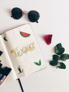 ınstagram.com/_mimarsa My Dıy Notebook - Benim Defterim Temmuz Ayı Planlaması - July Plans