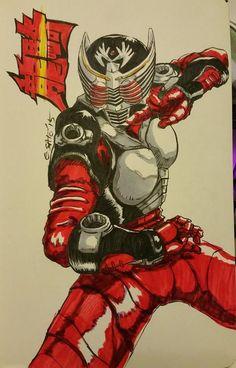 Kamen Rider Ryuki by Sato