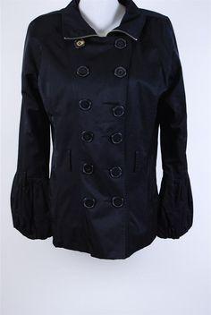 SINEQUANONE giacca, cappotto donna ultimo rimasto nero tg.44 super sconto #fashion #Moda #urbanstyle #street #style #coat