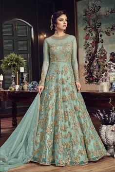 B4UFashion Present SkyBlue Partywear Nylon Net Anarkali Salwar Suit For Order 📲9033763613 📲07572803833   🌍🌍Worldwide Delivery🌍🌍  #anarkalisuit #anarkali #Dress #salwaarsuit #lehengacholi #lehenga #saree #indianfashion #indianwear #indianwedding #bridalfashion #bollywoodstyle #ethincfashion #fashion #sareelove #indianfashion #weddinginspiration #beautifulbride #wedding #shopping #b4ufashion #indianfashionblogger