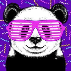 Almofada Crazy Panda do Studio Mozy por R$55,00