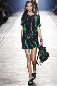 Versace Spring 2016 Ready-to-Wear Fashion Show - Raquel Zimmermann