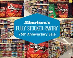 We're sharing tips of how to keep a fully stocked pantry with the Albertson's Fully Stocked Pantry Sale #AHugeSale #ad