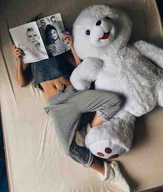 Just Girly Things Huge Teddy Bears, Big Teddy, Teddy Girl, Love Bear, Big Bear, Giant Teddy, Teddy Bear Pictures, Foto Casual, Sleep